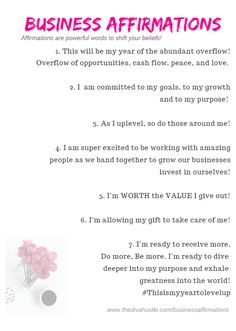 Account Suspended Affirmations for business to speak greatness - Diva Hustle<br> Business affirmations to use today and speak greatness over your business! Affirmations are powerful words to shift your beliefs! Positive Affirmations Quotes, Affirmations For Women, Self Love Affirmations, Morning Affirmations, Law Of Attraction Affirmations, Money Affirmations, Affirmation Quotes, Quotes Dream, Babe Quotes