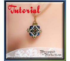 Medici Collection Crystal Earrings Tutorial, $4.5