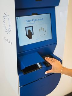 Biometric technology can pass you through airport security in seconds. No more waiting in line!