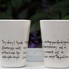 Kinda cool these mugs!