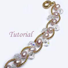 Beaded Pearl Bliss Bracelet Tutorial $4.00