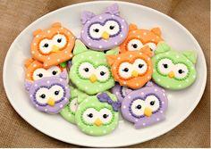Owl Cookies   TheWHOot