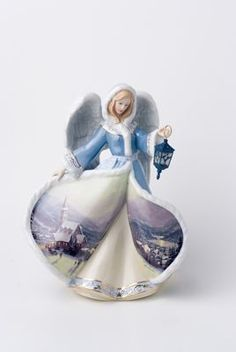 thomas kinkade dolls - Yahoo Image Search Results Thomas Kinkade Art, Pharmacy Gifts, Thomas Kincaid, Art Thomas, Angels Among Us, How To Make Ornaments, Famous Artists, Fantasy Characters, Illustrators