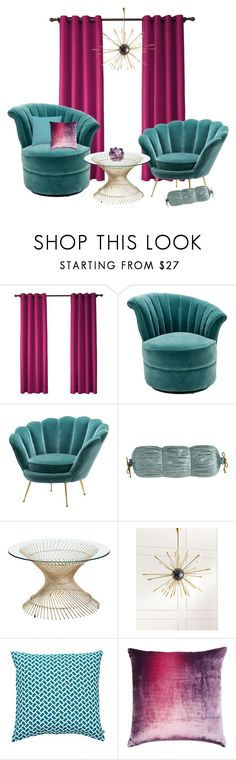 """sophirema window display D1"" by binderiya-bayarsaikhan on Polyvore featuring interior, interiors, interior design, home, home decor, interior decorating, Eichholtz, Sweet Dreams, Pier 1 Imports and Regina Andrew Design"