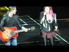 Made in the USA- Demi Lovato and Chord Overstreet, San Jose, CA 2/11/14