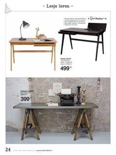 Brochure Basiclabel zomer 2015 by De Eekhoorn Dutch Furniture - issuu Furniture Brochure, Office Desk, Make It Simple, Home Decor, Desk, Desk Office, Decoration Home, Room Decor, Home Interior Design