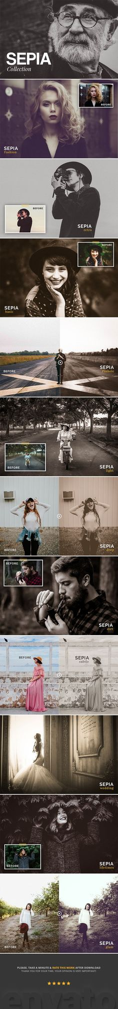 Sepia Collection Lightroom Presets - Vintage Lightroom Presets