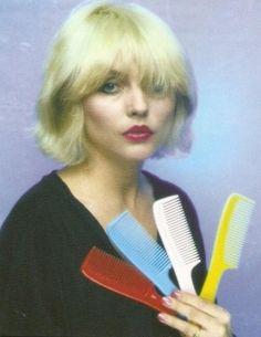 Blondie's Deborah Harry... I just like this