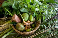 Seychelles, fruits et herbes locaux by Marie-Ange Ostré, via Flickr