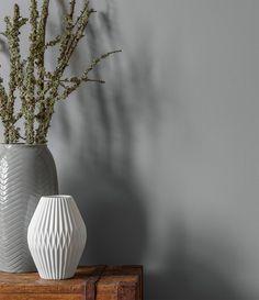 Alpina Feine Farben No. 02 – Nebel im November. Durch Weiß und Keramik Elemente…