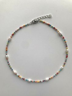 Seed Bead Jewelry, Bead Jewellery, Cute Jewelry, Beaded Jewelry, Handmade Jewelry, Beaded Bracelets, Handmade Wire, Seed Beads, Beaded Anklets