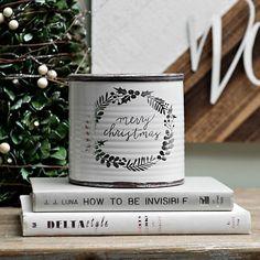 Merry Christmas Ceramic Jar | Kirklands