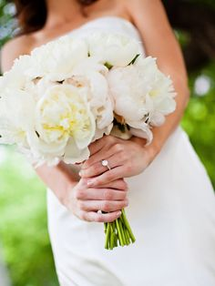Indianapolis Wedding by Jeffrey McHale + Jessica Strickland Photography Peonies Bouquet, Peony, Mother Dearest, Wedding Flowers, Wedding Dresses, Flower Decorations, Bride, Pictures, Photography