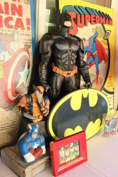 Vintage Superhero Second Birthday Party {Planning, Ideas, Decor, Cake}