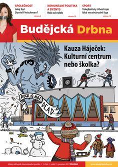 Historicky první číslo tištěného magazínu Budějcká Drbna. Na titulce si vždycky dáváme záležet . #print #budejckadrbna #cover #art #design #graficarts