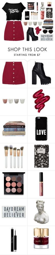 """My father took me into the city  To see a marching band"" by phaedra-solaris ❤ liked on Polyvore featuring Boohoo, Jayson Home, Obsessive Compulsive Cosmetics, Givenchy, Spectrum, Design Letters, MAC Cosmetics, tarte, Romanelli and Christian Dior"
