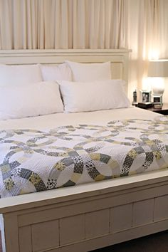 DIY Farmhouse Bed (Ana White) Pretty much my goal to make this . . .