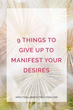 Yes, you can make your desires manifest quickly. Find out what you can do today to start manifesting.
