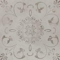 "Found it at AllModern - Concrete Loft Deco 24"" x 24"" Porcelain Field Tile in Light Gray"