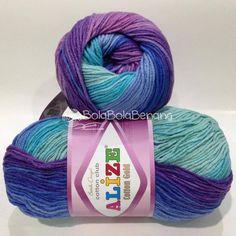 ALIZE COTTON GOLD BATIK 4531, Price: 105.000,-/gulung, Bahan: 55% Cotton - 45% Acrylic, Berat/Panjang: 100gr/330m, Knitting Needles: 3,5mm – 5mm, Crochet Hook: 2mm - 4mm