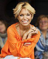 Nice haircut # Sylvie van der Vaart
