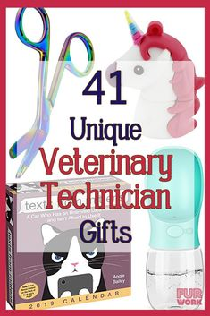 Need Vet Tech week gift ideas? Guide for veterinary practice managers, veterinarians or friends of vet techs. Creative ideas for presents for vet techs in Veterinarian Technician, Veterinarian Education, Veterinarian Quotes, Veterinarian School, Vet Tech Student, Vet Tech Gifts, Vet Assistant, Gifts For Veterinarians, Vet Med