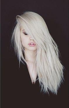 hi | howpointlesss on tumblr #pale -  #eyelashes,  makeup,  grunge,  black and white