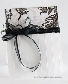 Card: Black and White Card