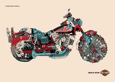 Harley Davidson - Driven by History - Eugen Suman's Portfolio