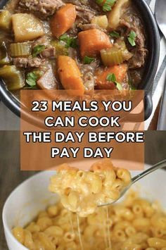 23 Meals You Can Cook Even If You're Broke || And they actually sound amazing!! save money on food frugal meal ideas, meal planning tips and budget recipes!