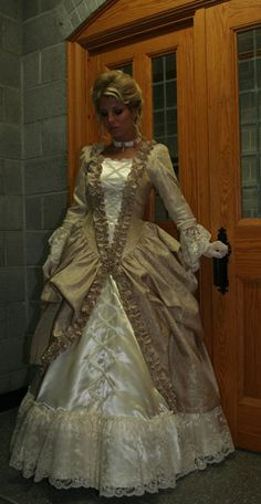 Ball gown at Recollections