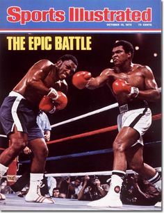 Ali | Frazier | Sports Illustrated October 13, 1975 | Volume 43, Issue 15