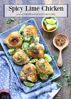 We here in California LOVE Mexican food. It is a staple. And if you can keep it simple and make it at home then why not? This Spicy Lime Chicken is unbelievably easy to make, delicious and Whole 30/Paleo compliant!
