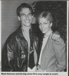 Mark and his sister, Kris.Mark married actor Pam Dawber. They had 2 children. Sean-1988; Ty-1992.  They've been married since 1987.  Kris was married to Ricky Nelson. They had 4 children. They divorced..