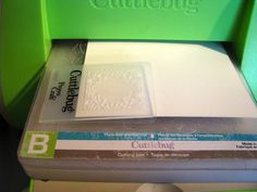 tips on how to use smaller embossing folders