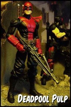 Deadpool Pulp (Marvel Universe) Custom Action Figure