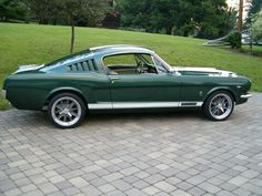 1965 Mustang Fastback the beginning
