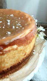 Paperivuoka: Suola-karamelli juustokakku Tiramisu, Sweet Tooth, Cheesecake, Food And Drink, Pudding, Sweets, Breakfast, Ethnic Recipes, Desserts