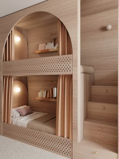 Small Room Design Bedroom, Kids Bedroom Designs, Room Ideas Bedroom, Home Room Design, Kids Room Design, Home Interior Design, Space Saving Bedroom, Bedroom Decor, Bunk Bed Rooms
