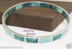 Silpada-High-Seas-Bangle-Bracelet-Turquoise-925-Sterling-Silver-B2828-e-LKr