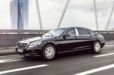 The Mercedes-Maybach S 600 Guard Can Withstand Assault Rifle & Explosive Attacks http://hypebeast.com/hb1p91w