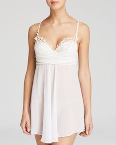 In Bloom by Jonquil Camilla Babydoll Chemise Sale - Women - Bloomingdale s 43745d4df