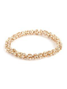 gold disco bracelet / baublebar by gena