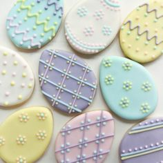 Easter Egg Cookies It will be an fundamental recipe for people who want to provide No Egg Cookies, Fancy Cookies, Iced Cookies, Easter Cookies, Holiday Cookies, Cupcake Cookies, Sugar Cookies, Cookies Et Biscuits, Easter Biscuits