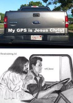 #jesus #gps