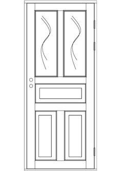 Ulko-ovi, ikkunallinen