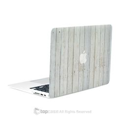 White Vertical Wood Texture Rubberized Hard Case for MacBook Pro with Retina Display Model / Macbook Air Keyboard Cover, Macbook Pro Case, Apple Macbook Pro, Macbook Air 13, Laptop Cases, Macbook Laptop, Apple Laptop, Cover Wallpaper, Trendy Wallpaper