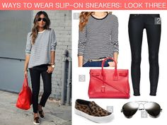 ways to wear the trend slip-ons sneakers plimsolls outfit style 2014