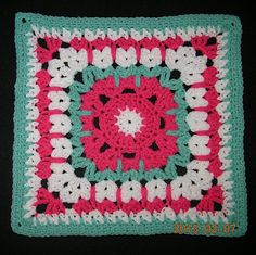 See How They Run Square: free pattern