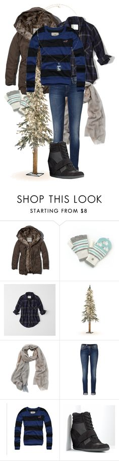 """""""Cozy Winter Outfit"""" by underwater-city ❤ liked on Polyvore featuring Abercrombie & Fitch, Improvements, Tilo, Tommy Hilfiger, Simply Vera and Vieste Rosa"""
